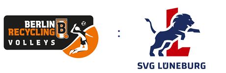 BERLIN RECYCLING Volleys vs. SVG Lüneburg