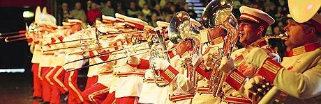 Europas größte Tournee der Marchingbands