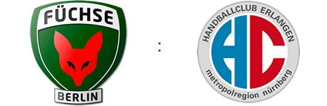 Füchse Berlin vs. HC Erlangen