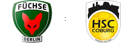 Füchse Berlin vs. HSC Coburg