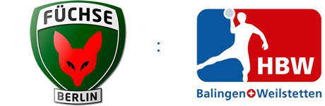 Füchse Berlin vs. HBW Balingen-Weilstetten